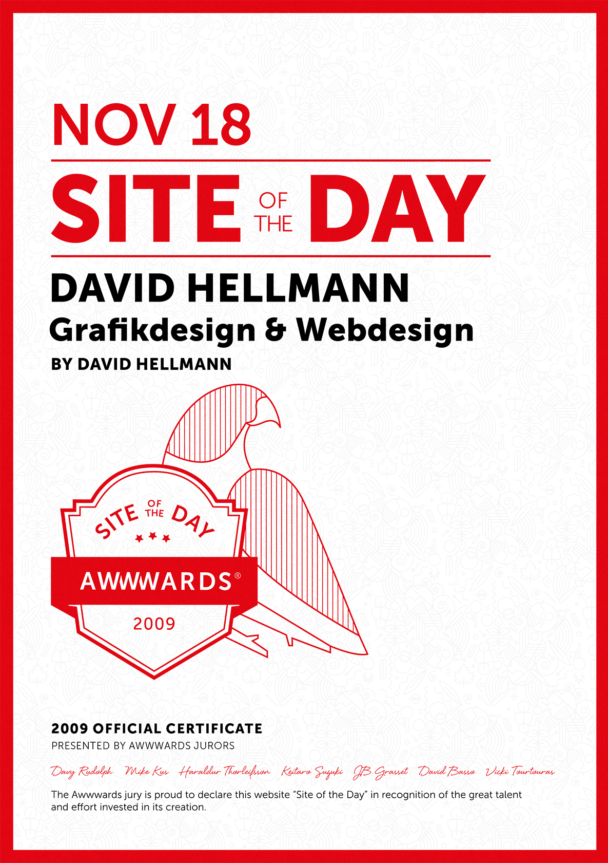 Awwwards Site Of The Day 2009 11 18