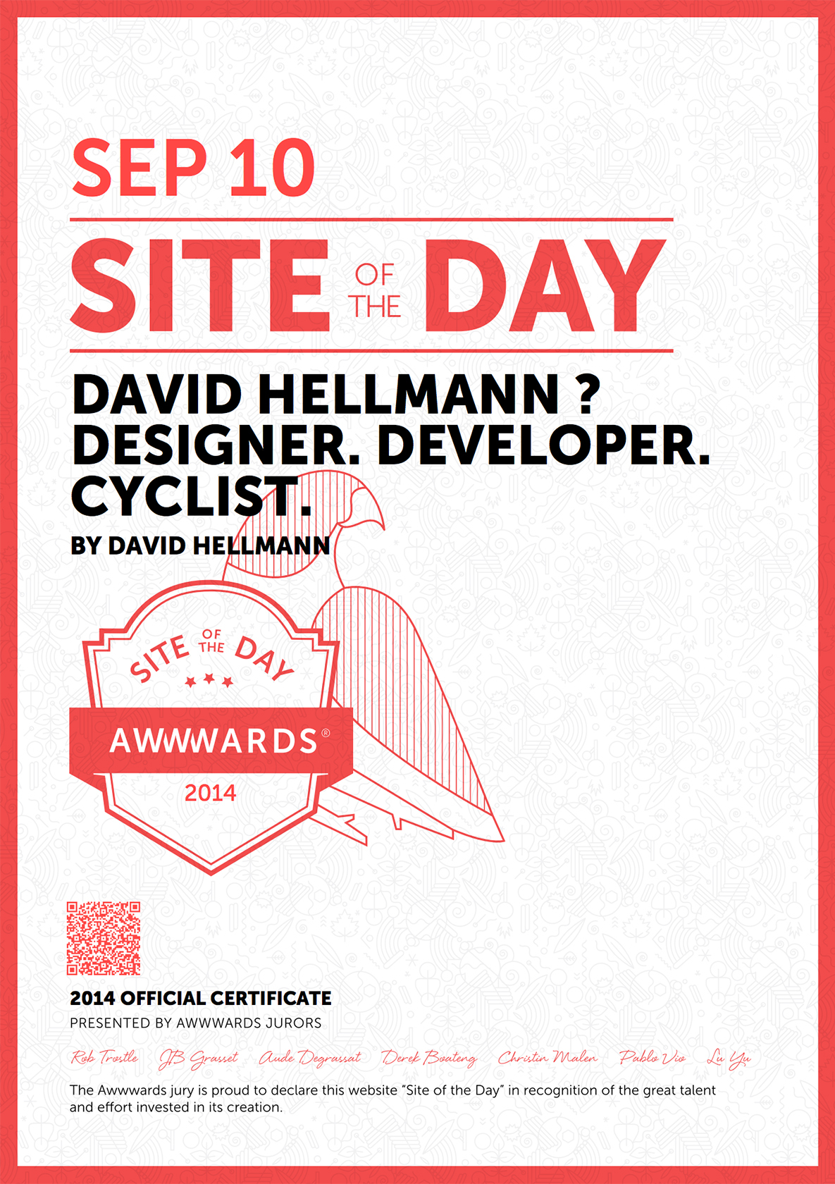 Awwwards Site Of The Day 2014 09 10