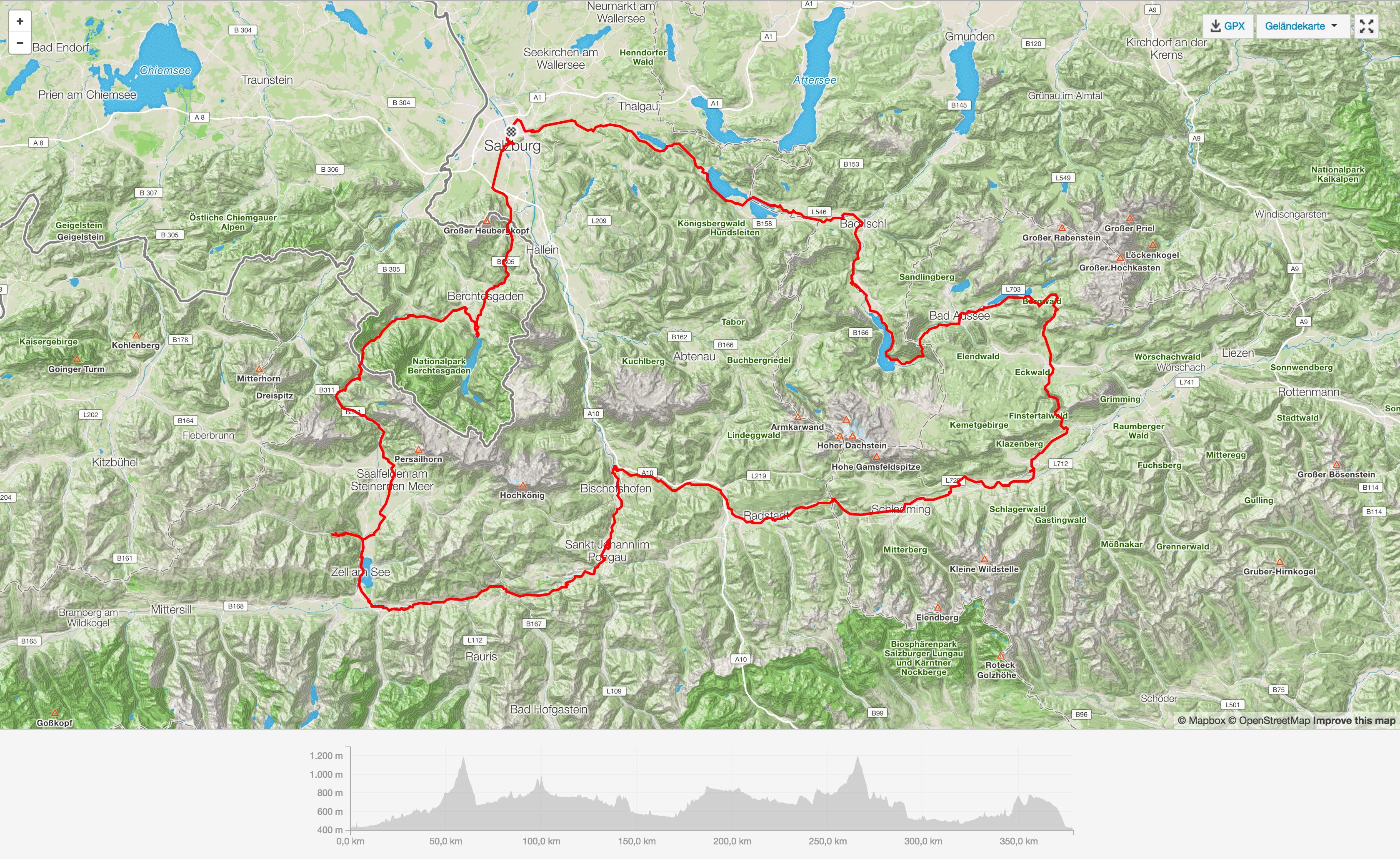 Salzburger Kreisel 2017 Strava