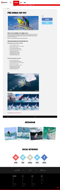 Fanatic Website Image 03