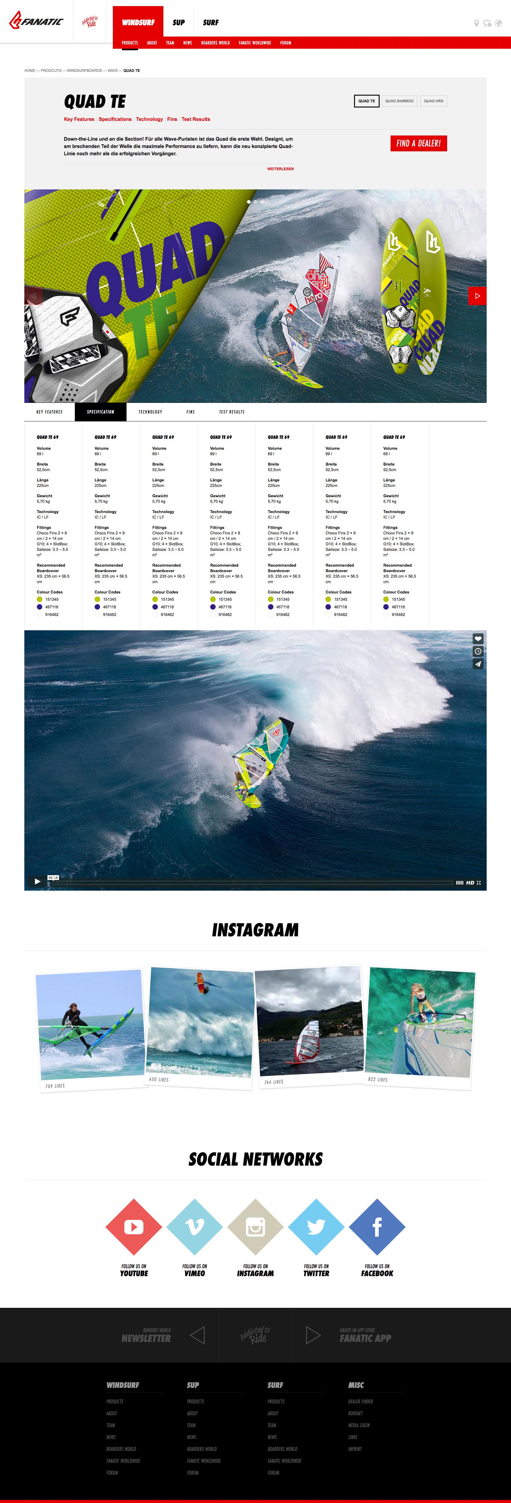 Fanatic Website Image 05