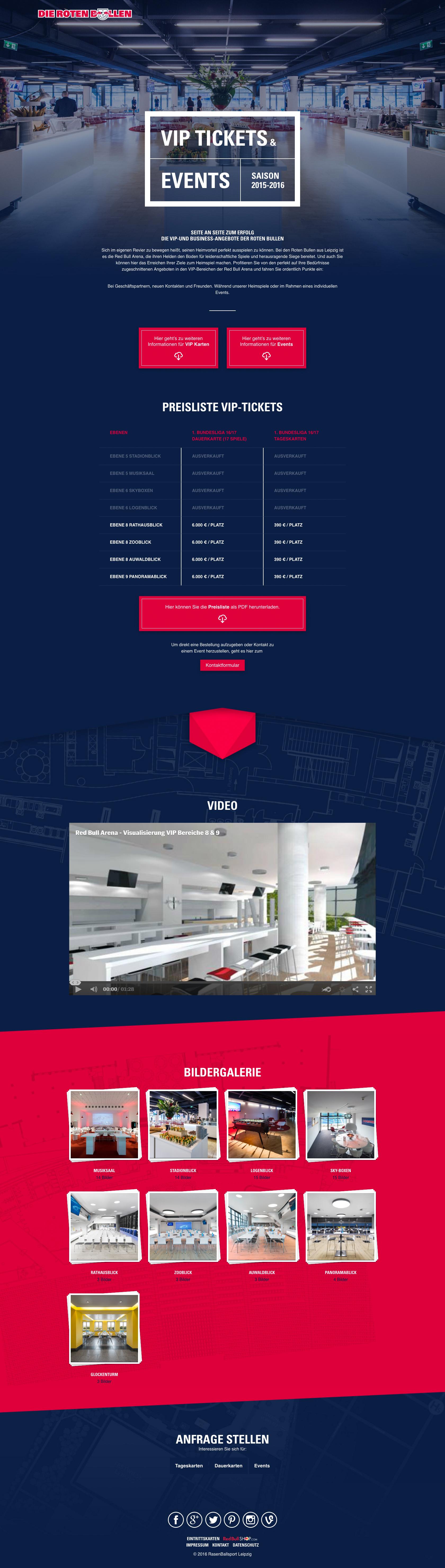 Hospitality Die Roten Bullen Website Image 01